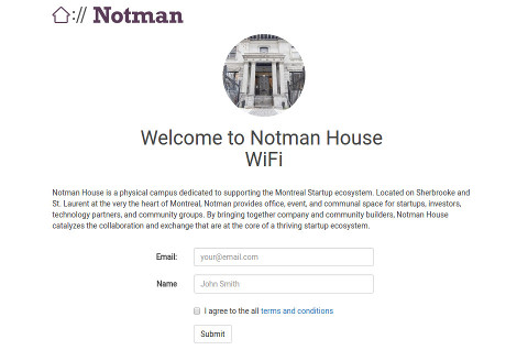 Notman house project